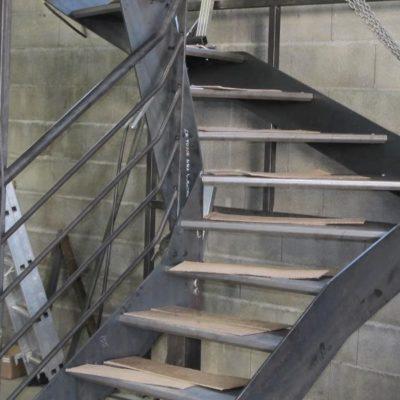 Fabrication d'un escalier