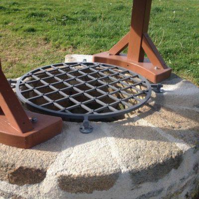 Grille acier - Primaire anti-rouille
