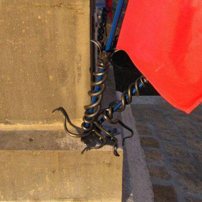 Porte drapeaux - Cros de Montvert